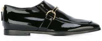 Stella McCartney patent buckle loafers