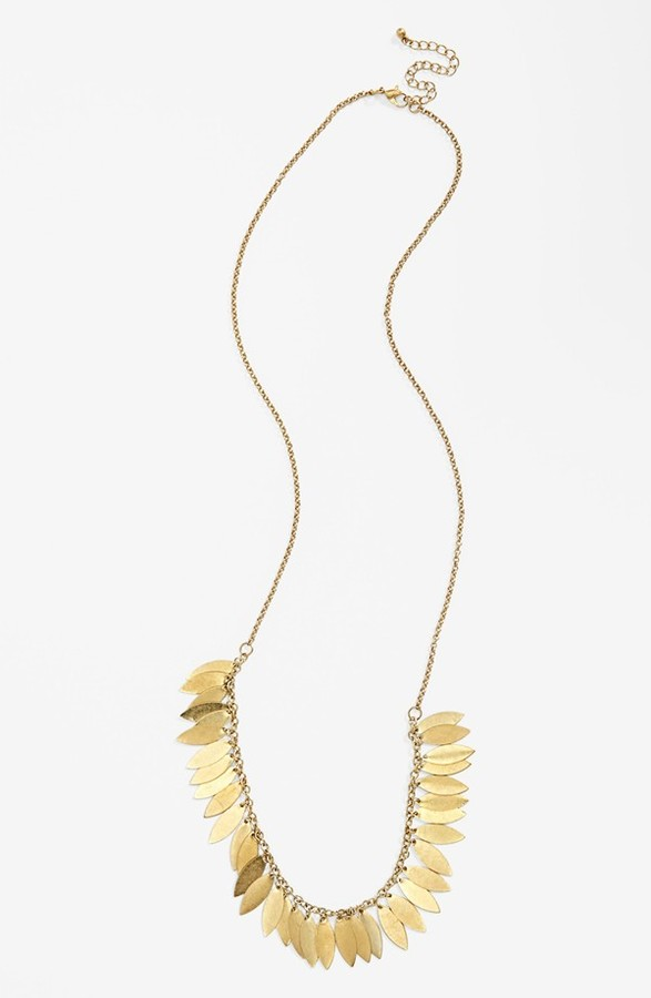 Carole Leaf Layering Necklace