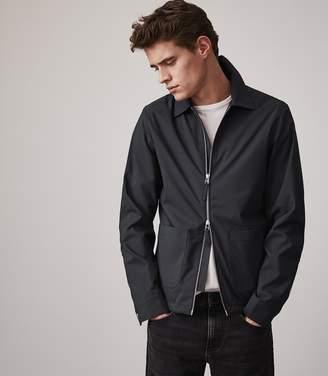 Reiss GRANT Zip through casual jacket Navy