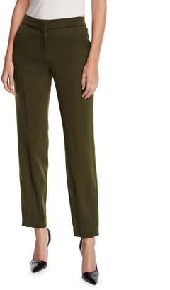 Narciso Rodriguez Virgin Wool Straight-Leg Trousers