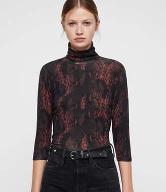 AllSaints Suki Funnel Neck Sweater