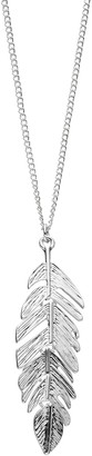 Lauren Conrad Long Feather Pendant Necklace