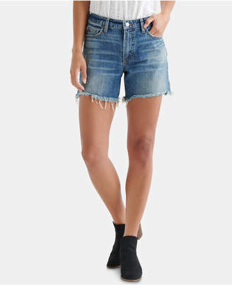Lucky Brand The Boyfriend Denim Shorts