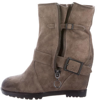 Ash Ash Wedge Ankle Boots