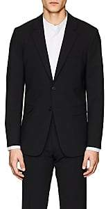 Theory Men's Chambers Wool Two-Button Sportcoat-Black