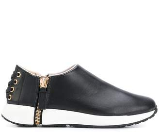 Diesel slip-on side zip sneakers