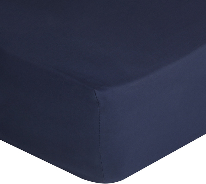 Polo Player Fitted Sheet - Navy - Double