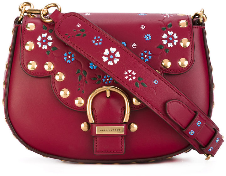 Marc Jacobs Marc Jacobs Navigator floral saddle bag