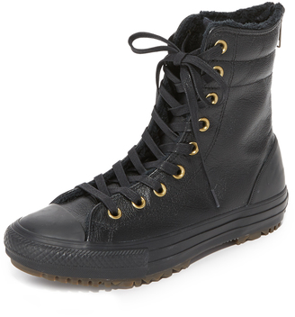 Converse Chuck Taylor All Star Sneaker Boots $90 thestylecure.com