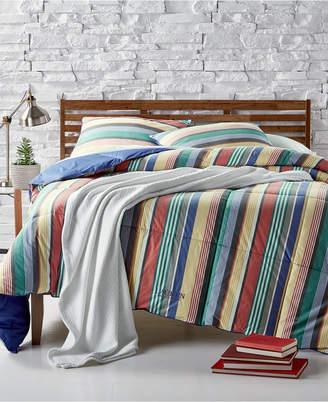 Lauren Ralph Lauren Cameron Reversible Yarn-Dyed Stripe King Down-Alternative Comforter