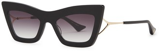 Dita Erasur Black Cat-eye Sunglasses