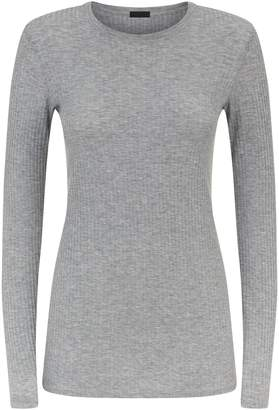 ATM Anthony Thomas Melillo Wide Rib Long Sleeve T-Shirt