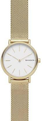 Skagen Signatur Gold-Tone Slim Watch, 30mm