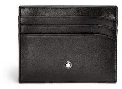 Montblanc Men's Meisterstuck Pocket 6cc - Black