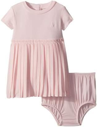 Ralph Lauren Jersey T-Shirt Dress Bloomer Girl's Active Sets