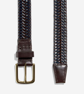 Cole Haan Two Tone 32mm Braided Belt