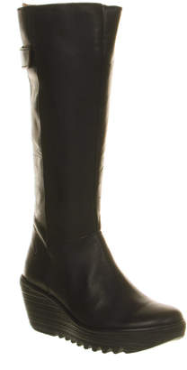 Fly London Yoa Wedge Knee Boots