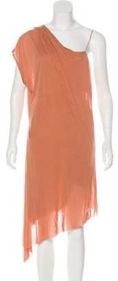 Helmut Lang Jersey Mini Dress