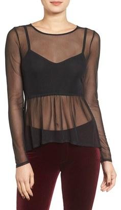 Women's Leith Mesh Bra Top $55 thestylecure.com