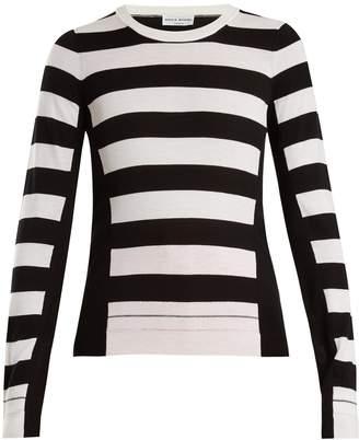 Sonia Rykiel Wide-striped wool-knit sweater