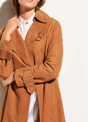 Vince Suede Trench