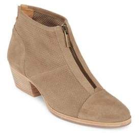 Fernanda Perforated Suede Bootie $395 thestylecure.com