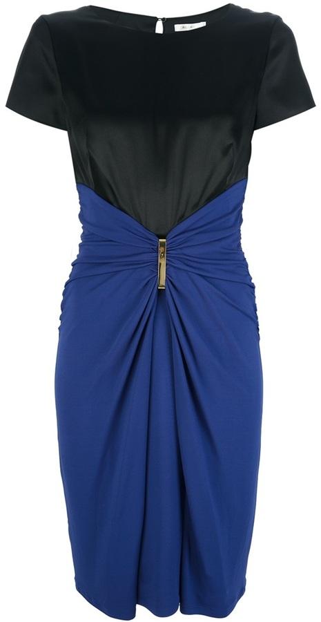 Paule Ka bi-colour dress