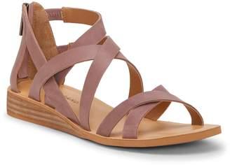 Lucky Brand Helenka Strappy Wedge Sandal