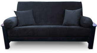 Latitude Run Simoes Solid Box Cushion Futon Slipcover