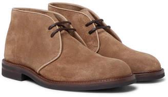 Brunello Cucinelli Suede Desert Boots
