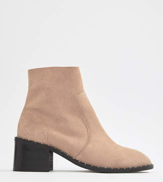 Asos Design DESIGN Realm suede mid ankle boots
