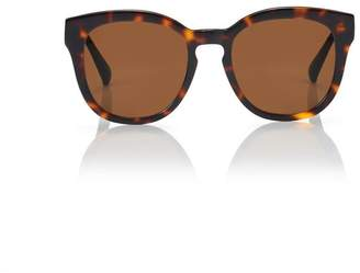 Blanc Eclare Nice Honey Tortoise With Solid Brown Lens