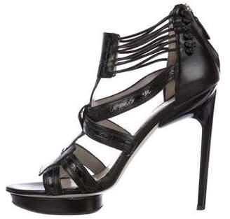Jason Wu Platform T-Strap Sandals