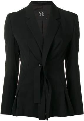 Y's tie detail blazer