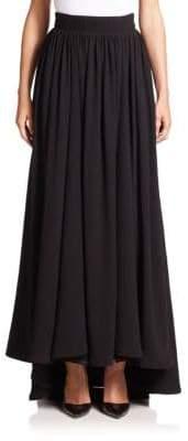 Escada Hi-Lo Maxi Skirt