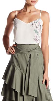 Vince Camuto Botanical Floral Print Cami