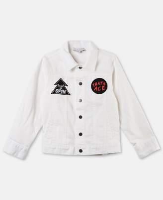 Stella McCartney nico white denim jacket