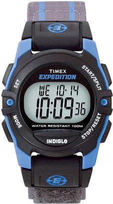 Timex Expedition Gray Nylon Fast Strap Digital Watch T496609J