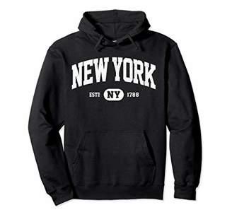 NY New York Sweatshirt Retro Vintage New York Hoodie Gifts