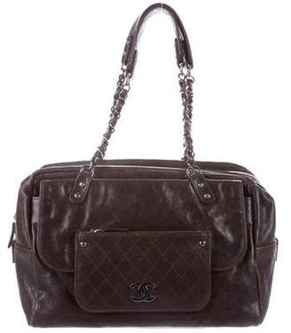 Chanel Caviar Pocket In The City Carryall
