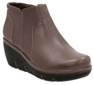 Clarks Clarks Clarene Sun Leather Ankle Boots