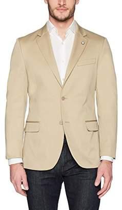 Nautica Men's Solid Cotton Suit Separate Jacket