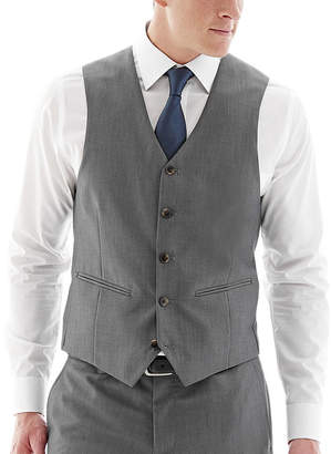 Co THE SAVILE ROW The Savile Row Company Gray Suit Vest - Slim