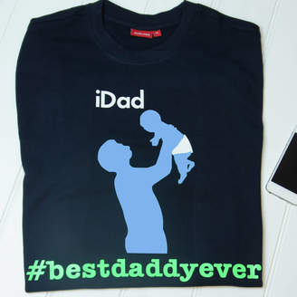 Simply Colors Men's Personalised I Dad T Shirt