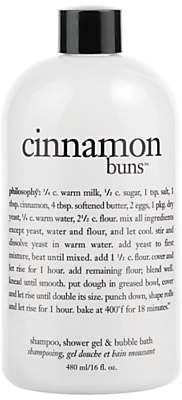 philosophy Cinnamon Buns 3 in 1 Shower Gel, 480ml