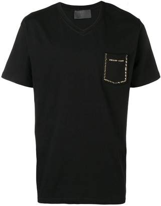 Philipp Plein v-neck T-shirt