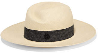 Maison Michel Virginie Straw Sunhat - Cream