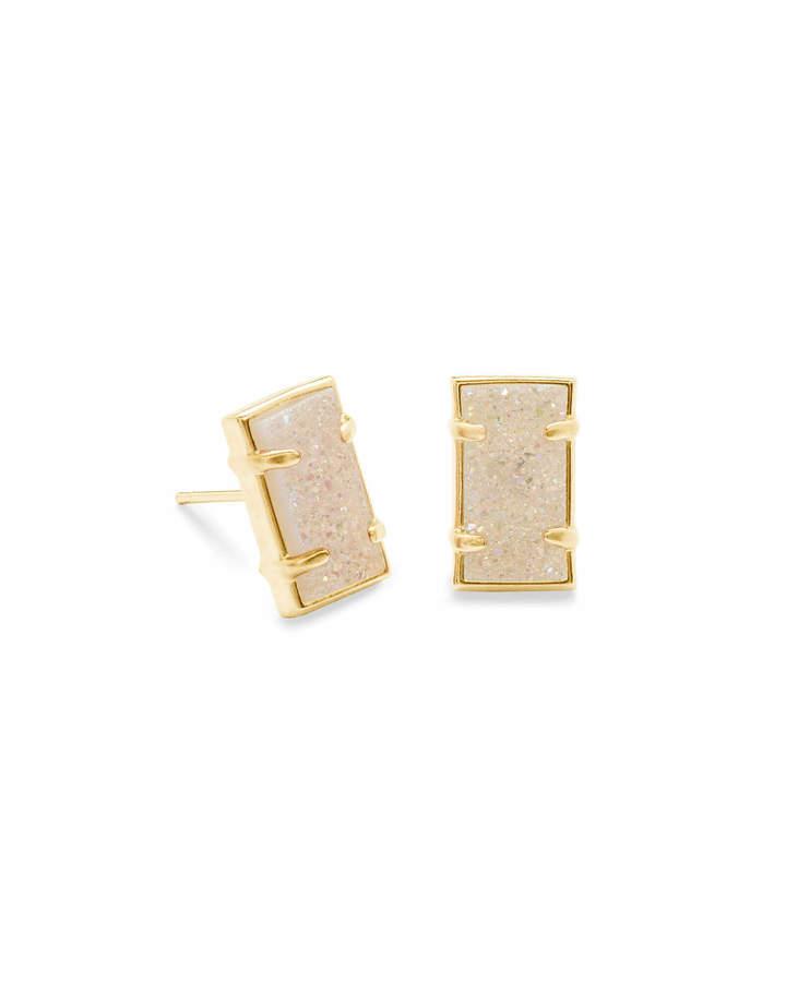 Kendra Scott Paola Stud Earrings in Gold