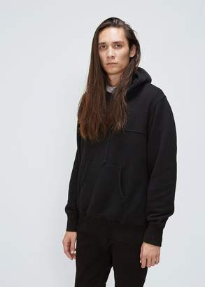 Comme des Garcons Homme Wool Backed Hoodie