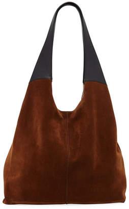 Hayward Grand Colorblock Shopper Tote Bag, Brown/Black